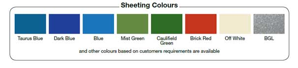 sheeting-colours